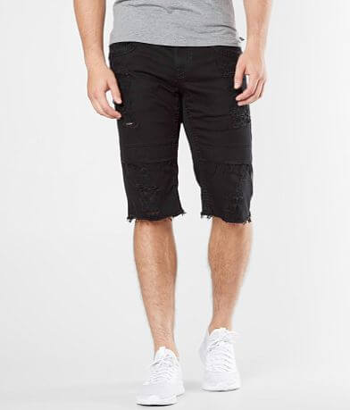 Rock Revival Otto Moto Stretch Short