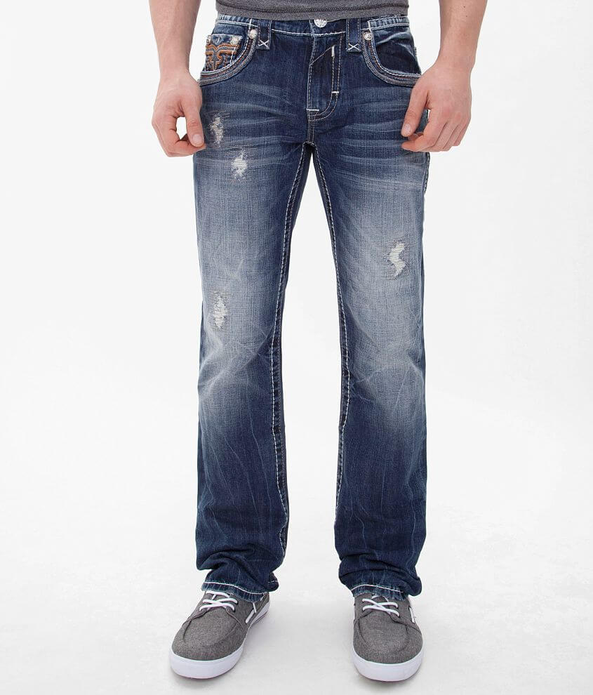 Rock Revival Tate Straight Jean front view