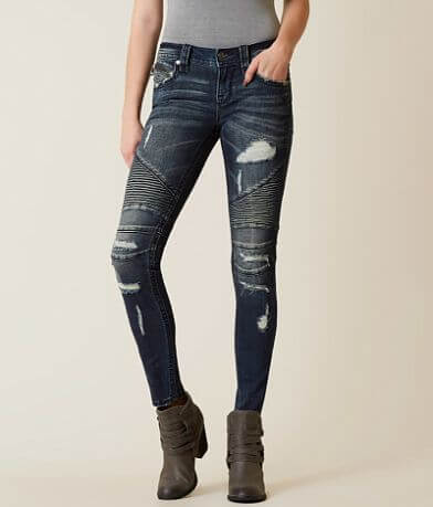 Rock Revival Ednee Biker Skinny Stretch Jean