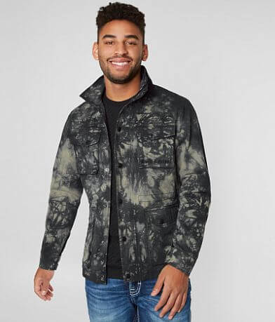Rock Revival Cargo Denim Jacket