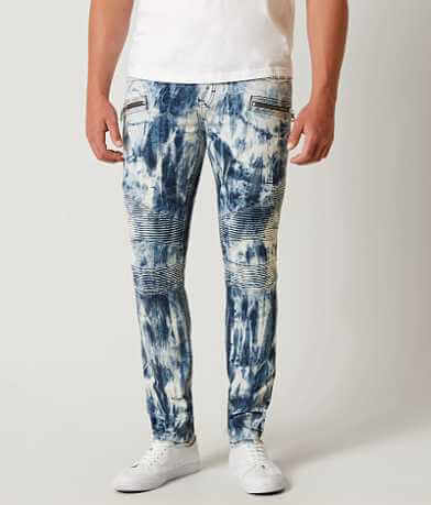 Rock Revival Elliot Moto Slim Straight Jean