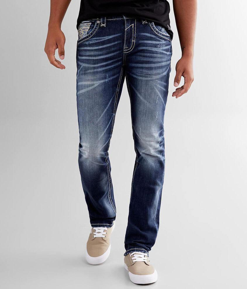 Rock Revival Albus Alternative Straight Jean front view