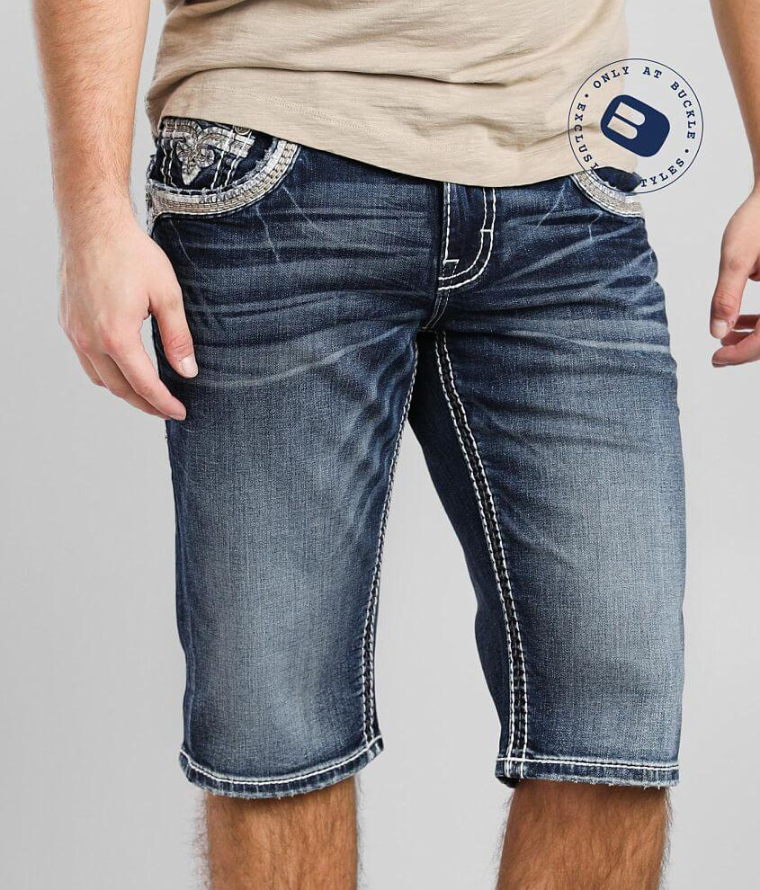 Rock Revival Rayden Stretch Short front view