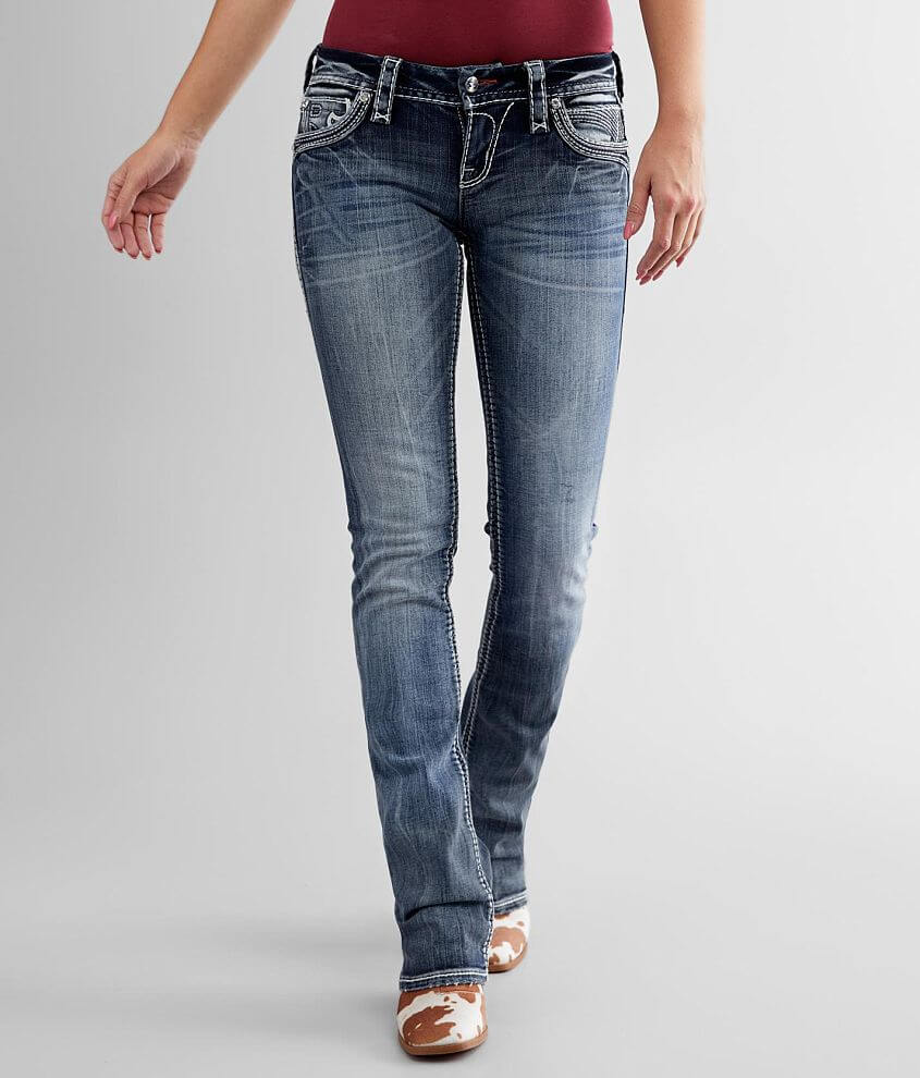 Rock Revival Rima Boot Stretch Jean front view