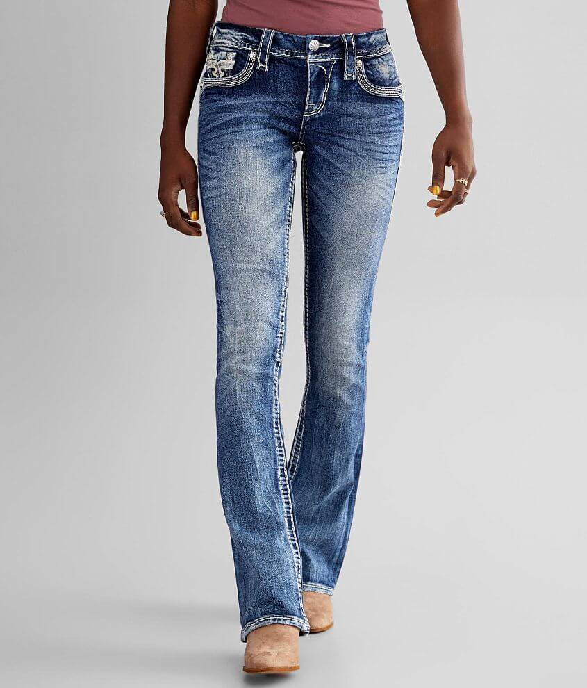 Rock Revival Barbra Boot Stretch Jean front view