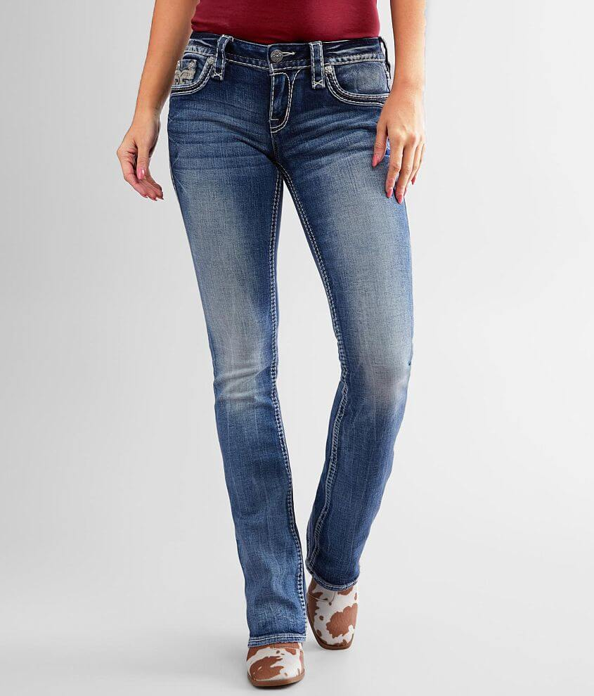 Rock Revival Pecola Boot Stretch Jean front view