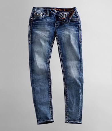 Rock Revival Arona Mid-Rise Skinny Stretch Jean