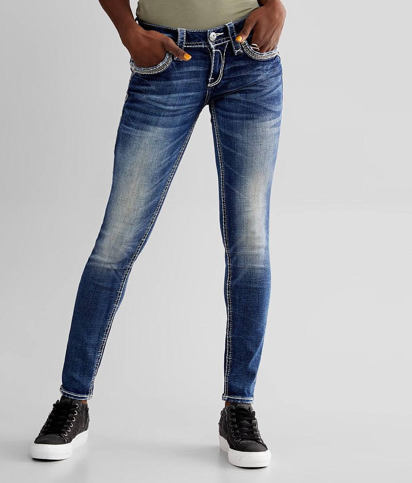 Rock Revival Ash Rose Skinny Stretch Jean front view