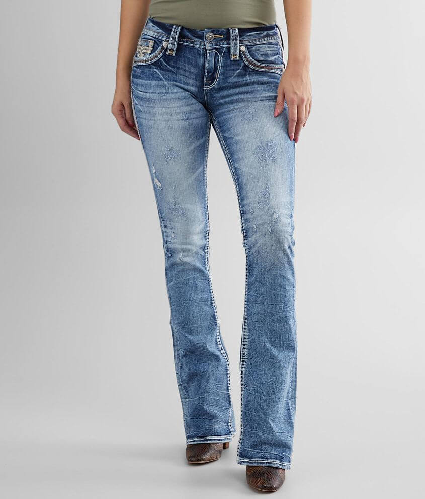 Rock Revival Olivine Boot Stretch Jean front view