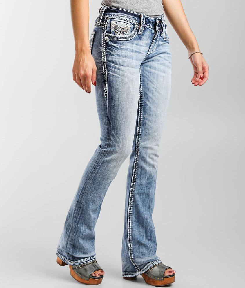 Rock Revival Sequoia Mid-Rise Boot Stretch Jean front view