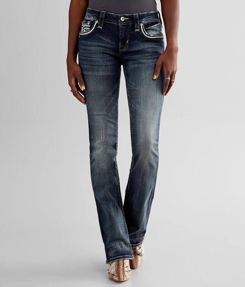 Rock Revival Amphora Boot Stretch Jean front view