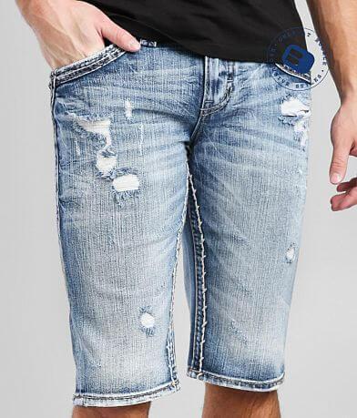Rock Revival Jaser Denim Stretch Short