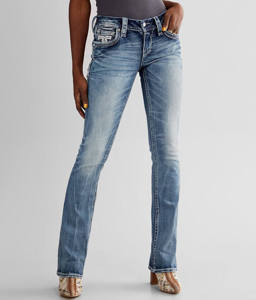 Rock Revival Yui Boot Stretch Jean front view