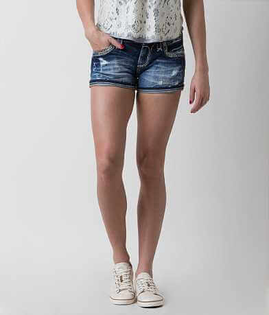Rock Revival Raven Stretch Short