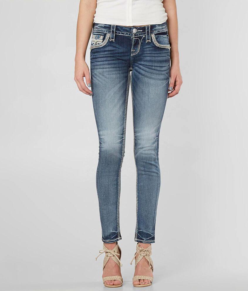 f5d8a516563 Rock Revival Raven Skinny Stretch Jean - Women s Jeans in Raven S214 ...