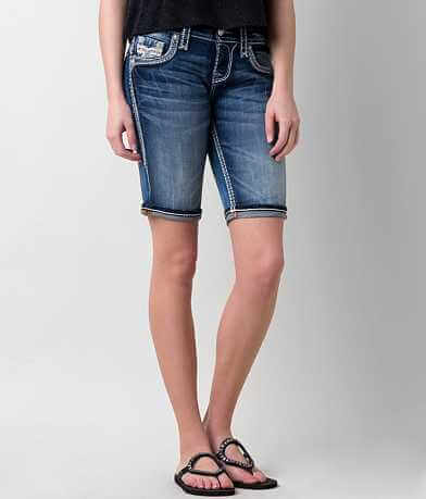 Rock Revival Yeon Bermuda Stretch Short