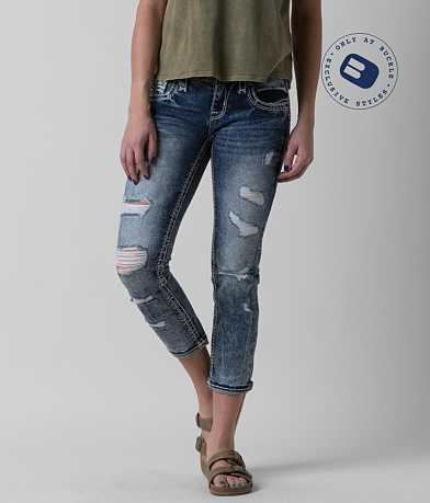 Rock Revival Jena Stretch Cropped Jean