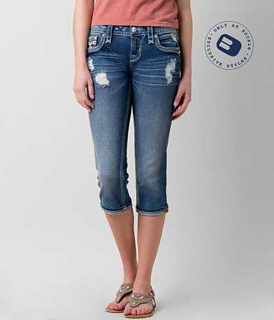 Rock Revival Alecia Stretch Cropped Jean
