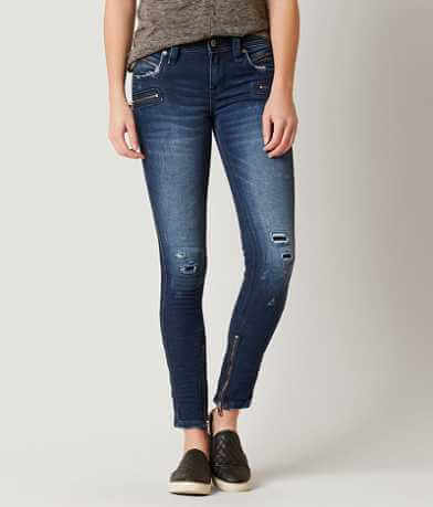 Rock Revival Moto Camille Skinny Stretch Jean