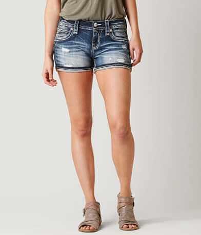 Rock Revival Lam Stretch Shorts