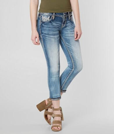 Rock Revival Abrienda Cropped Stretch Jean