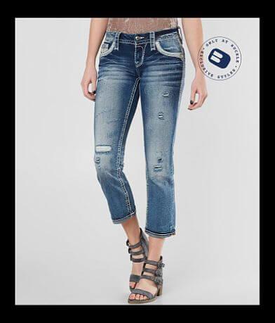 Rock Revival Hettie Stretch Cropped Jean