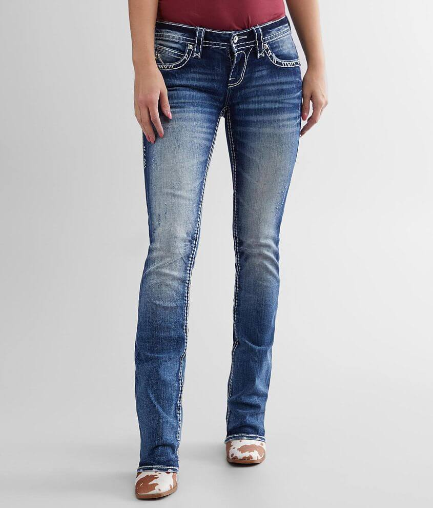 Rock Revival Amity Boot Stretch Jean front view