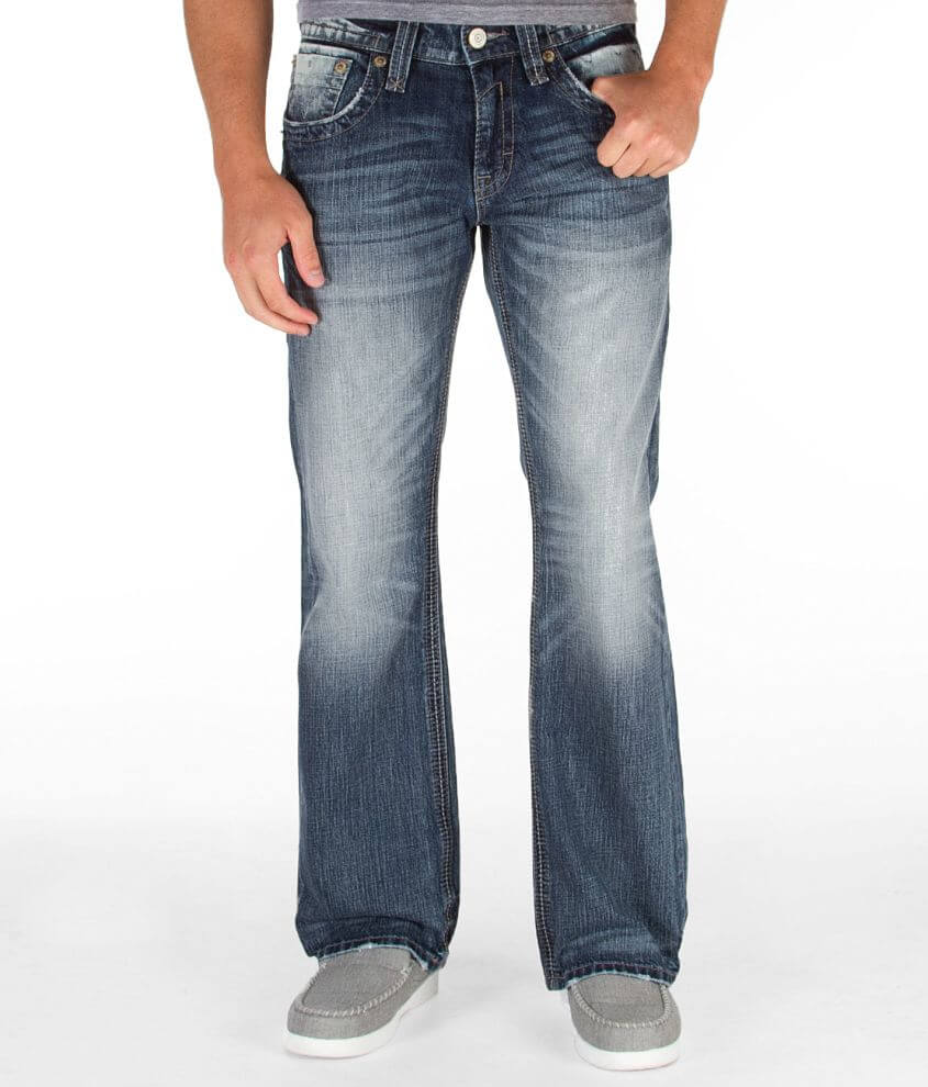 Rock Revival Layne Relaxed Straight Jean front view