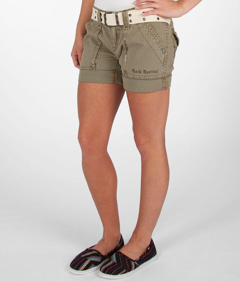 new style b7ad1 7607e Rock Revival Cargo Casual Short - Women's Shorts in Sage ...