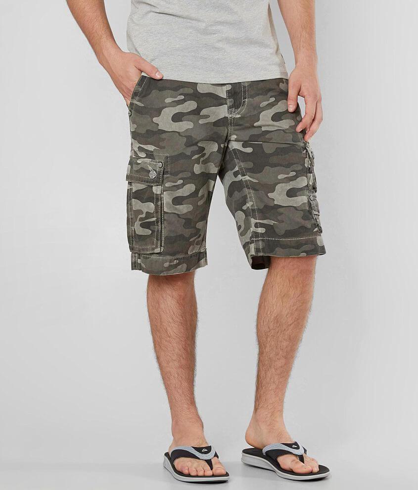 1093717a6e Rock Revival Classic Cargo Short - Men's Shorts in Camo   Buckle