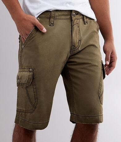 Rock Revival Classic Washed Cargo Short