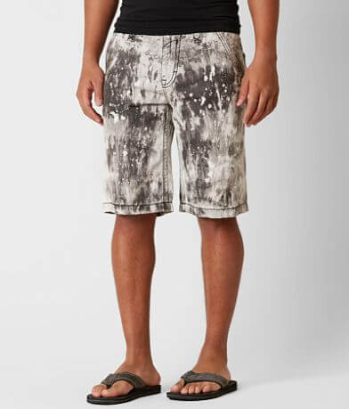 Rock Revival Grey Tie Dye Short