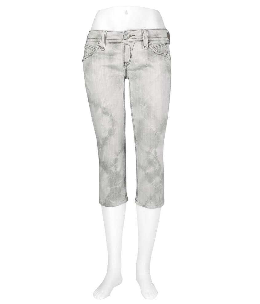 Rock Revival Amy Stretch Cropped Jean front view