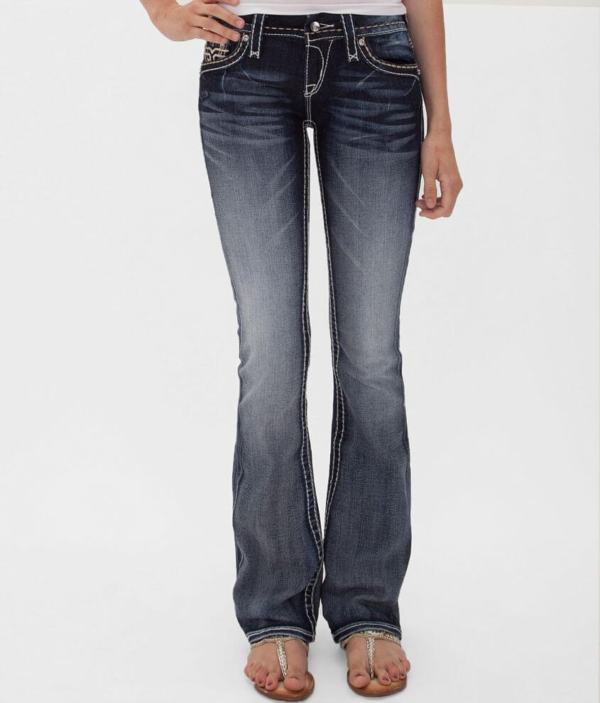 Rock Revival Clover Boot Stretch Jean front view