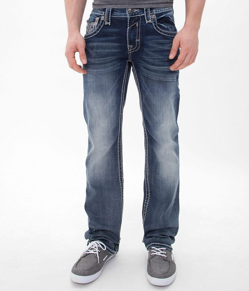 Rock Revival Tony Straight Stretch Jean front view