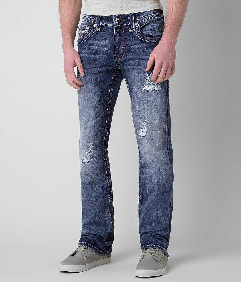 Rock Revival Mario Straight Jean front view
