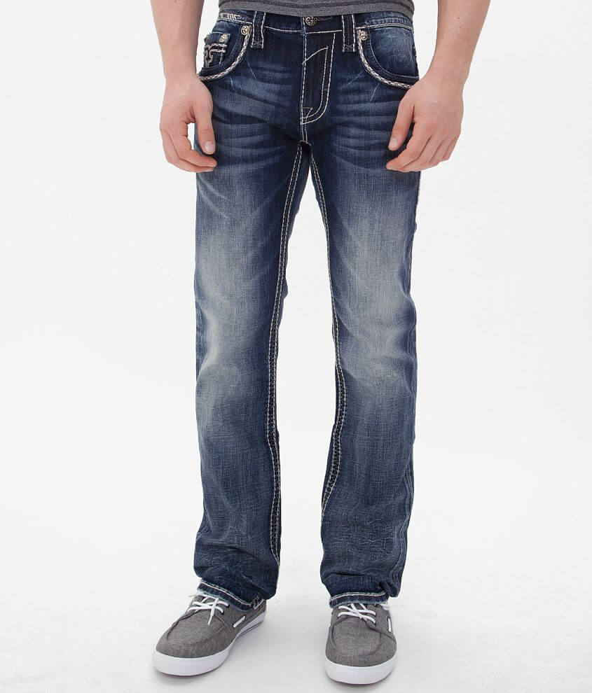 Rock Revival Benji Straight Jean front view