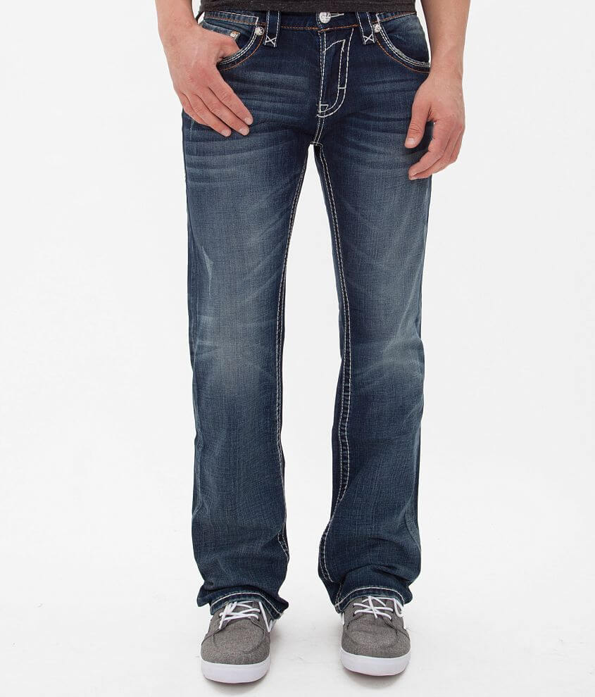 Rock Revival Harper Straight Jean front view
