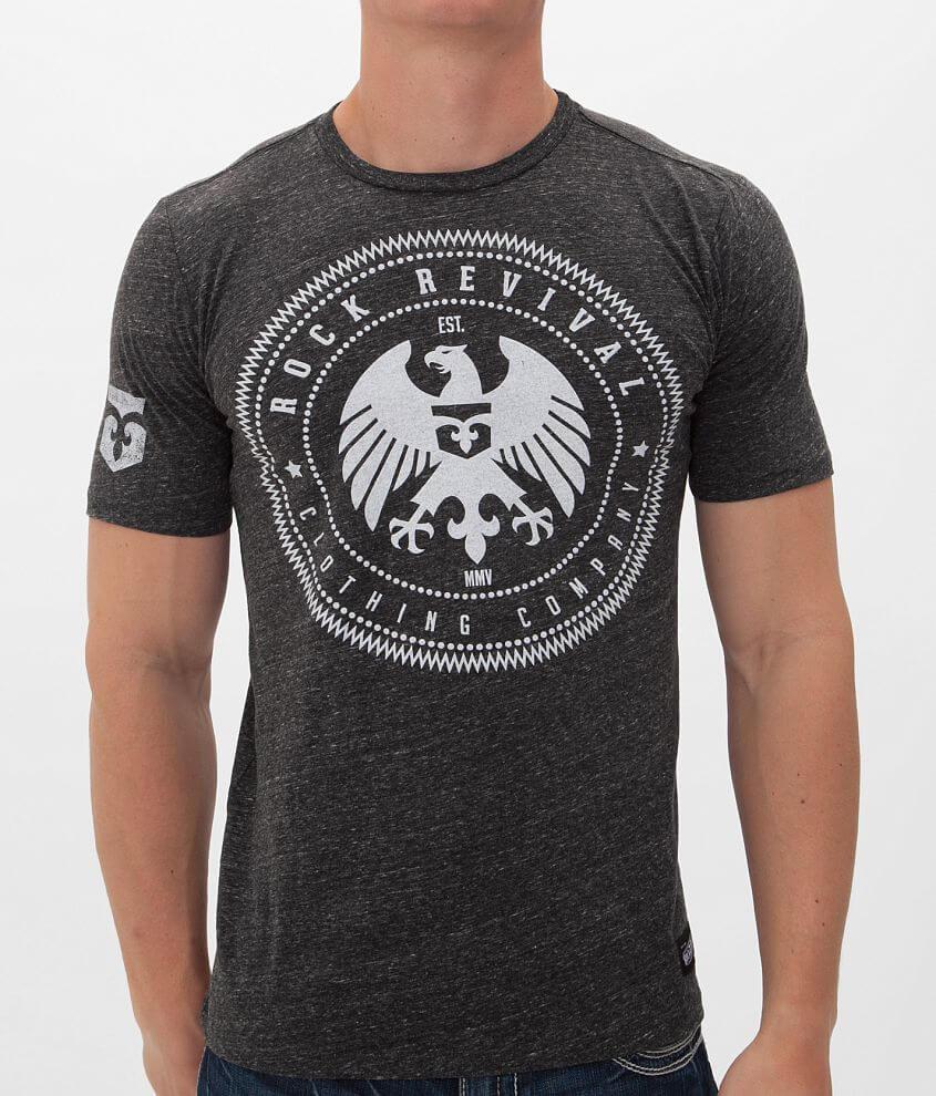 Rock Revival Eagle Badge T-Shirt front view