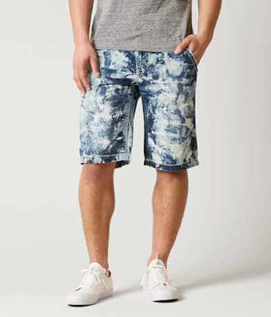 Rock Revival Indigo Tie Dye Short