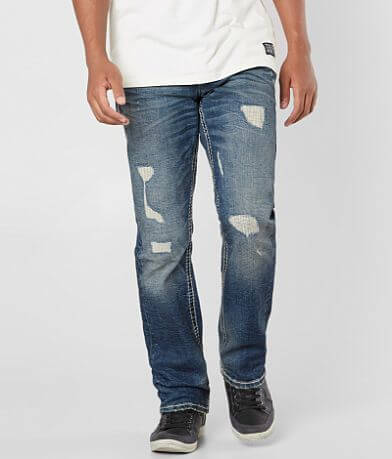 Rock Revival Nakio Straight Stretch Jean