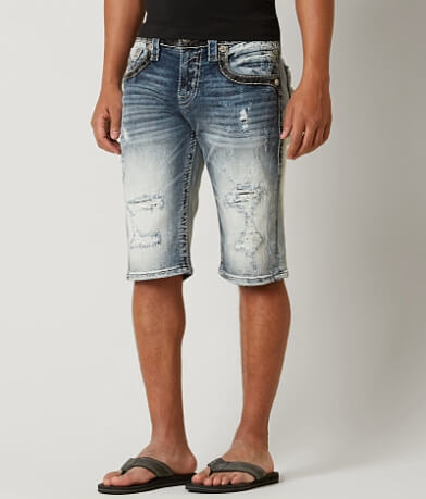 Rock Revival Keifer Stretch Short