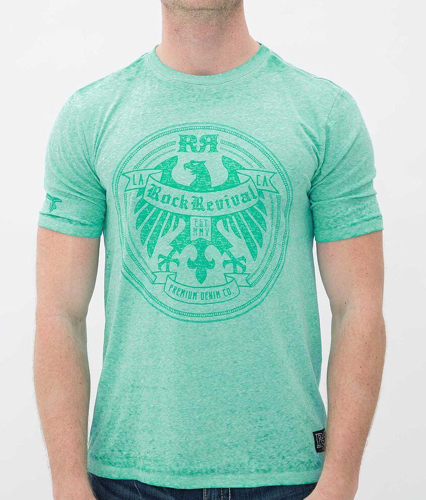 Rock Revival Eagle Circle T-Shirt front view