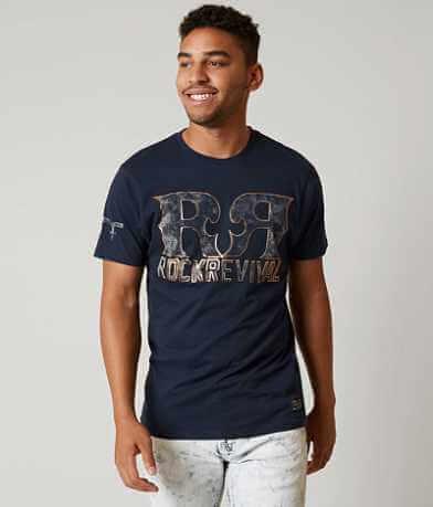 Rock Revival Double R Stripes T-Shirt
