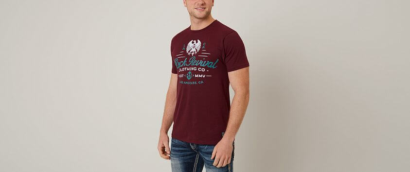 Rock Revival Walton T-Shirt front view