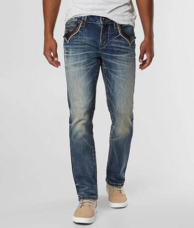 Rock Revival Rancher Straight Stretch Jean