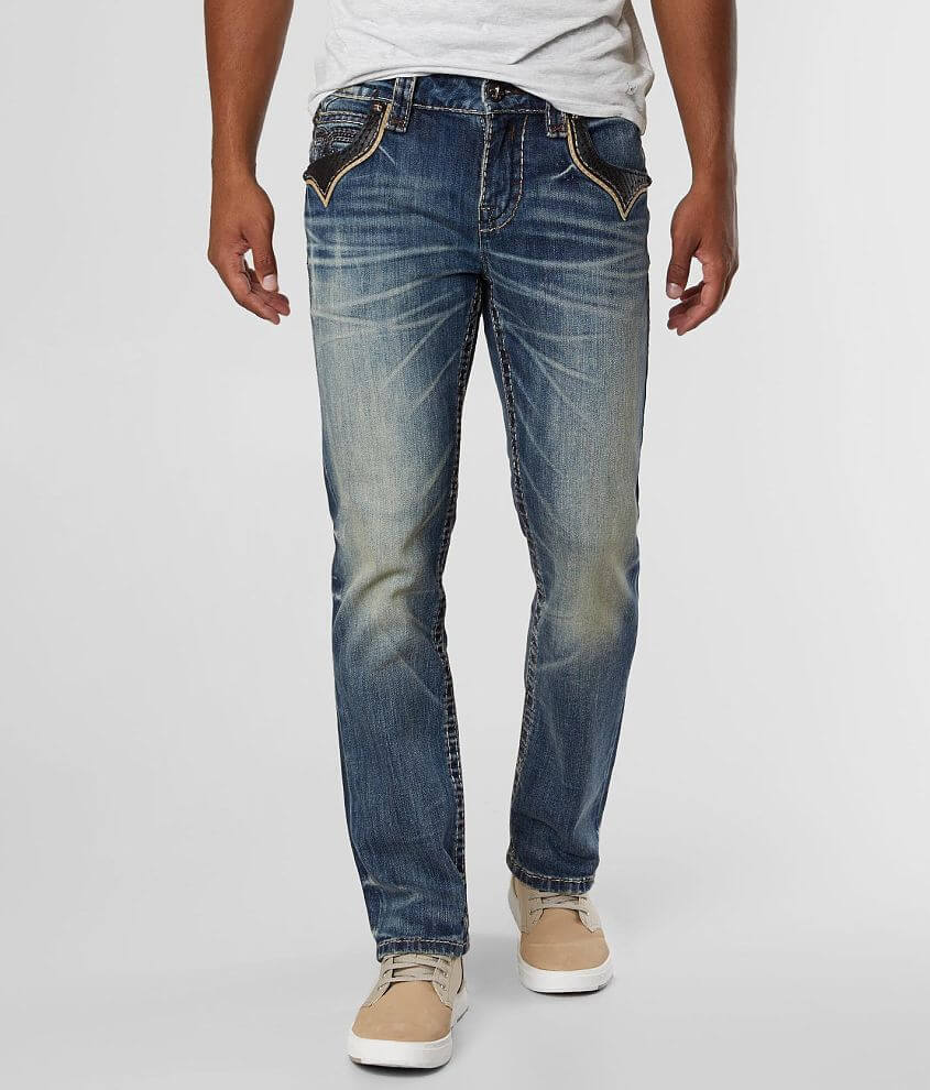 Rock Revival Rancher Straight Stretch Jean front view