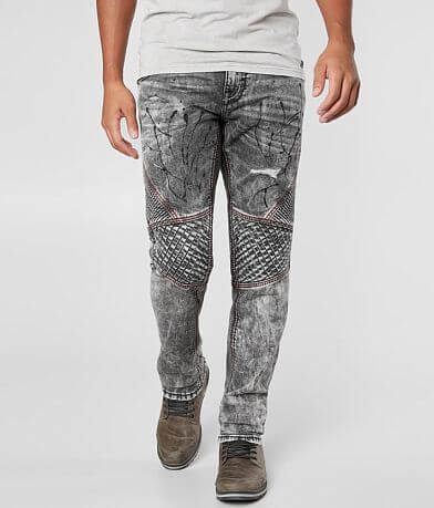 Rock Revival Krase Biker Straight Stretch Jean