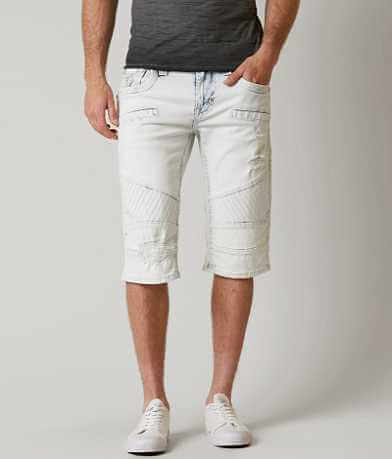 Rock Revival Barry Moto Stretch Short