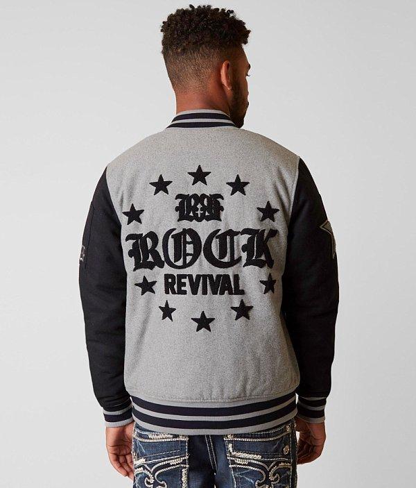 Rock Rock Revival Varsity Revival Jacket zpqYwY5